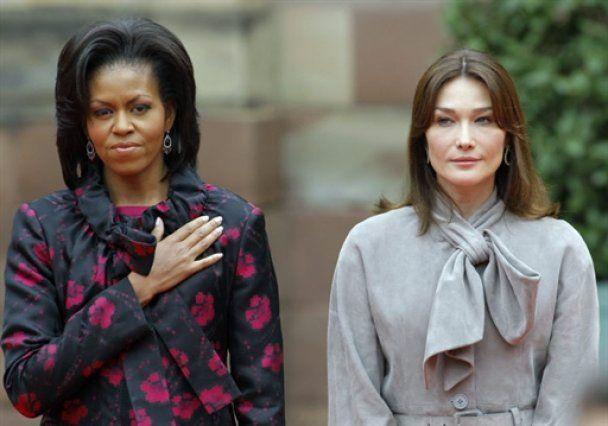 Одкровення Карли Бруні про Мішель Обаму спричинили міжнародний скандал