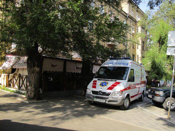 Бизнесмена в Днепропетровске пытались взорвать самодельной взрывчаткой