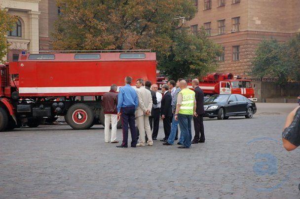 Пожар в харьковском университете имени Каразина потушили