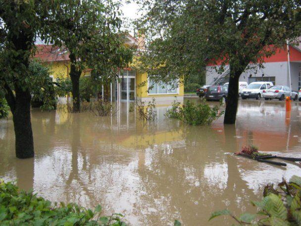 Столица Словении ушла под воду