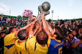 Украинские бомжи вышли в лидеры чемпионата мира по футболу
