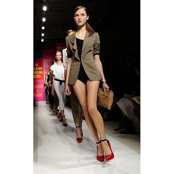 Mercedes Benz Fashion Week в Нью-Йорке. Часть 1