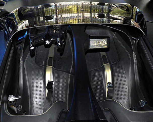 Электромобиль от Peugeot установил рекорд скорости