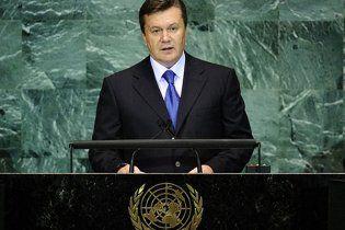 Янукович сообщил ООН, что каждый четвертый украинец бросил курить