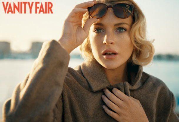 Вишукана фотосесія Ліндсей Лохан для Vanity Fair