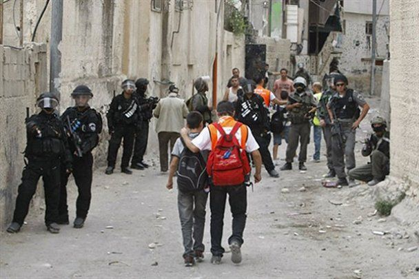 Массовые беспорядки в Иерусалиме