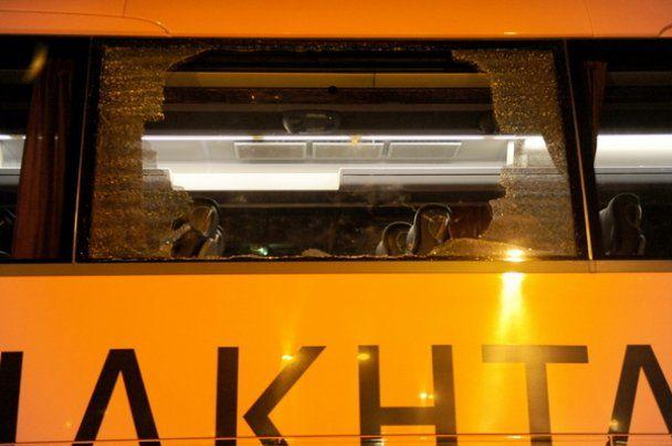 """В Харькове разбит автобус с футболистами """"Шахтера"""""""