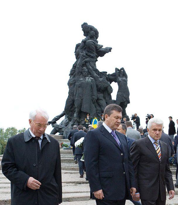 Президент вшанував пам'ять жертв Бабиного Яру