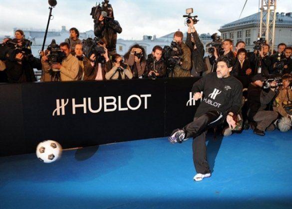 Дієго Марадона приймає участь в благодійній акції в Москві_6