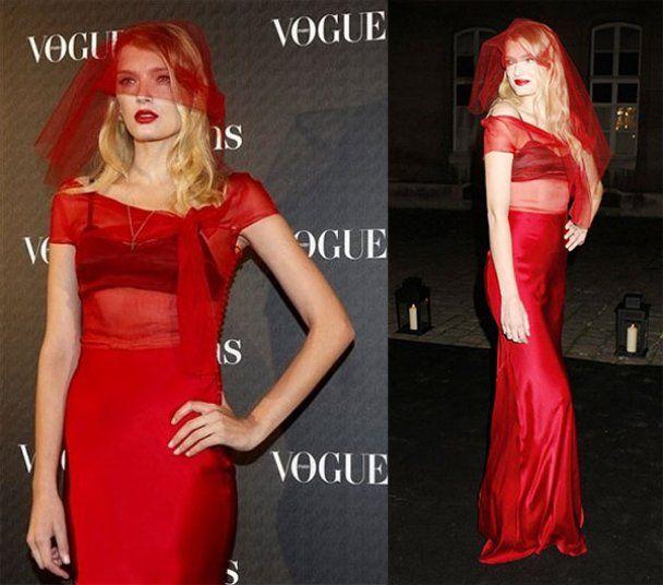 В Париже звезды отпраздновали 90-ю годовщину Vogue