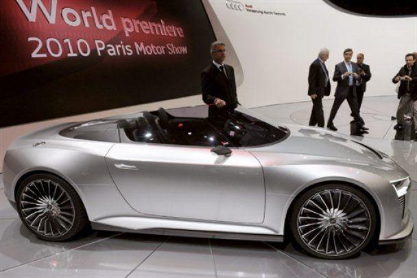 Міжнародний автосалон у Парижі 2010. Частина 1