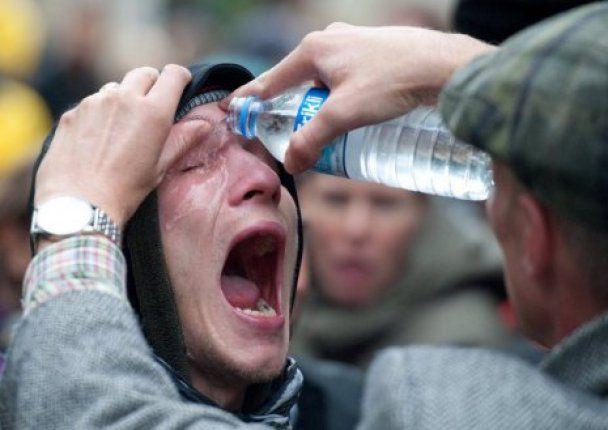 В Германии избили школьников, протестовавших против вырубки парка