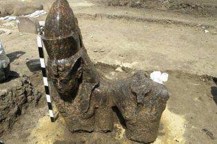 У Єгипті розкопали статую діда Тутанхамона