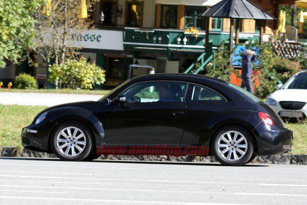 """Появились первые фото нового """"жука"""" от Volkswagen"""