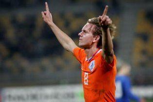 Лидер сборной Нидерландов пропустит матчи с Украиной