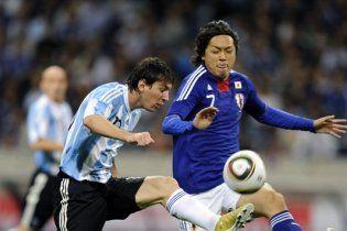 Японські самураї перемогли Аргентину (відео)