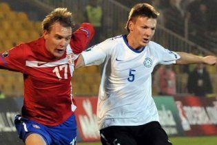 Естонія створила найгучнішу сенсацію третього туру Євро-2012 (відео)