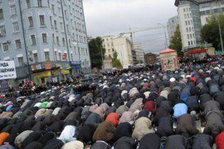 У центрі Москви ледь не спалахнули масові заворушення мусульман