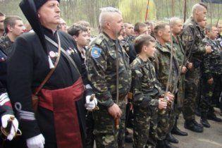 У Запоріжжі відтворюють армію УНР