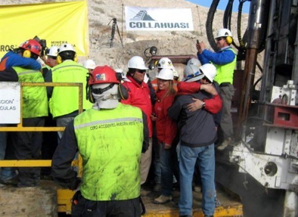 Евакуація чилійських шахтарів почнеться 13 жовтня