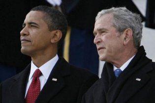 Буш відмовився від запрошення Обами відвідати місце терактів 9/11