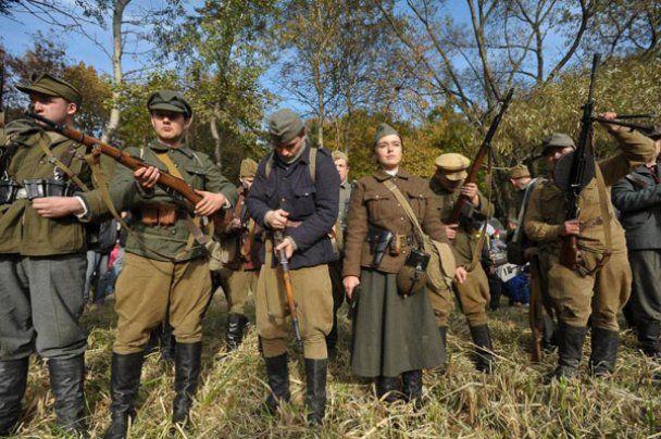Годовщину УПА во Львове отметили боем с солдатами НКВД