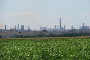 Воздух в центре Запорожья отравлен