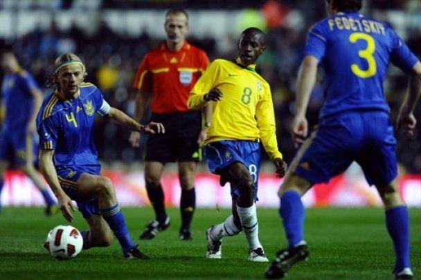 Бразилія перемогла Україну з рахунком 2:0