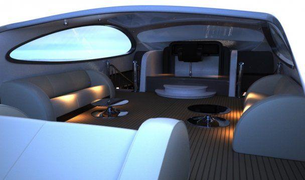 У Швеції збудують унікальну яхту зі спортивним суперкаром