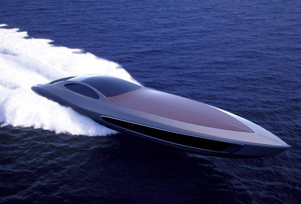 В Швеции построят уникальную яхту со спортивным суперкаром