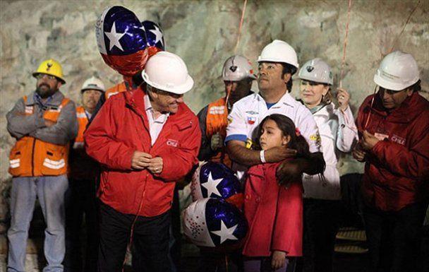 В Чили завершена операция по спасению 33 шахтеров