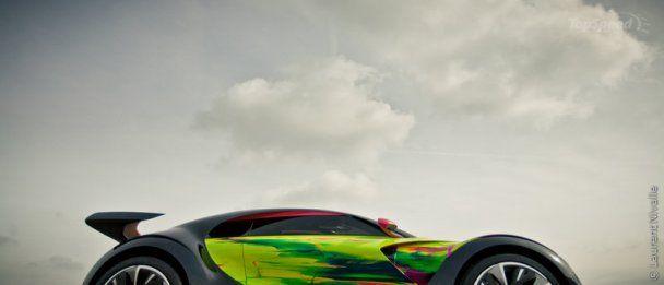 Citroen представила собственный арт-кар