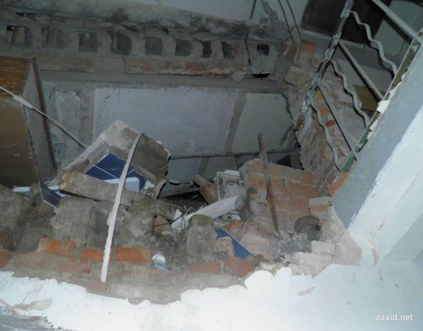 На Закарпатті вибух газу зруйнував будинок