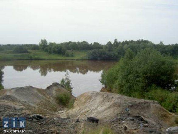 Гудронове озеро біля Львова