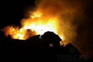 На Днепропетровщине в пожаре сгорели два малыша
