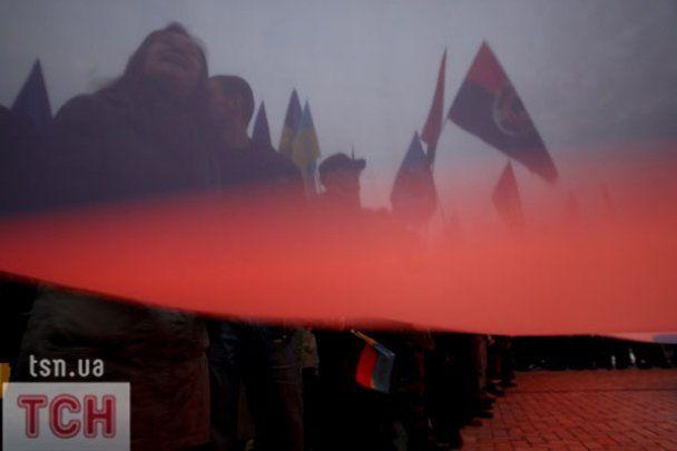 В Киеве провели марш за признание УПА