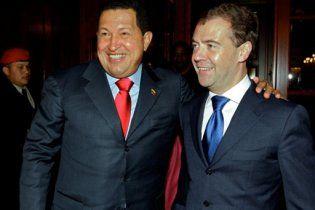 Мєдвєдєв і Чавес вирішили, що час зупинити кровопролиття у Лівії