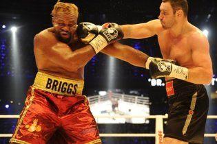 Після бою з Кличком Бріггс потрапив до лікарні