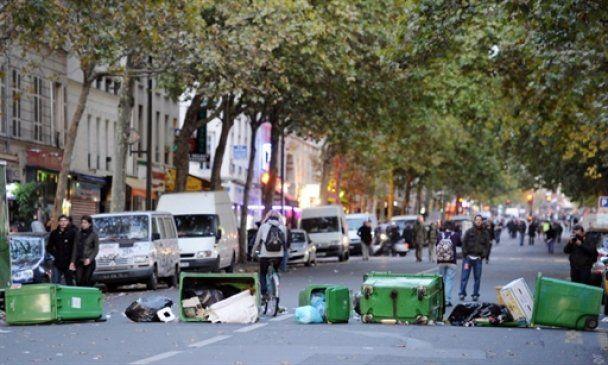 Після масових демонстрацій в Парижі анархісти почали погроми