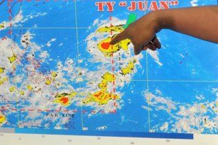 На Филиппины надвигается самый большой тайфун за четыре года