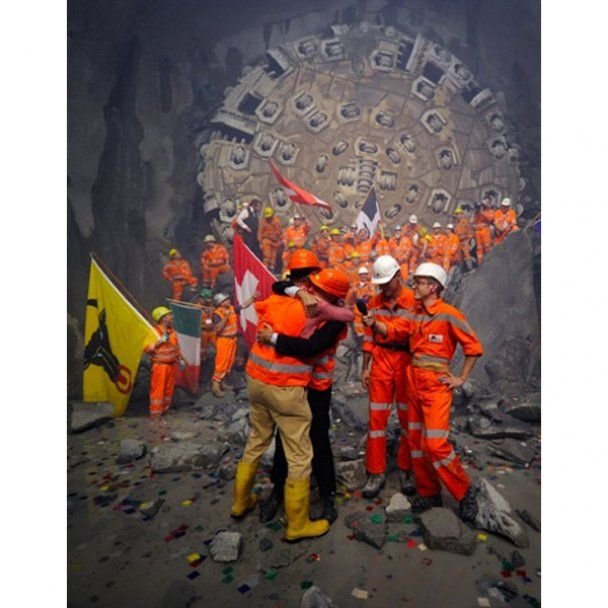 У Швейцарії проклали найдовший тунель в світі
