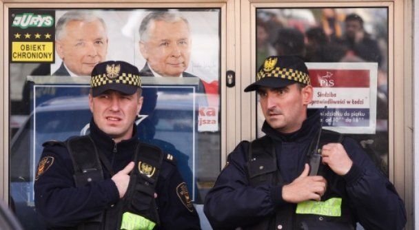 Качиньский обвинил в нападении на офис партии правительство