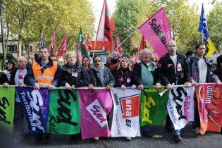 Во Франции седьмой день продолжаются забастовки и уличные протесты