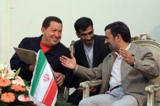 """Чавес і Ахмадінежад об'єдналися проти """"американського імперіалізму"""""""