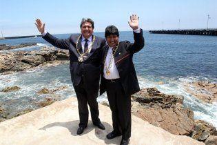 Перу подарила Боливии выход к океану