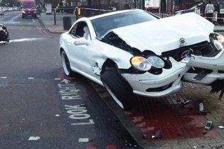 Хей потрапив в аварію