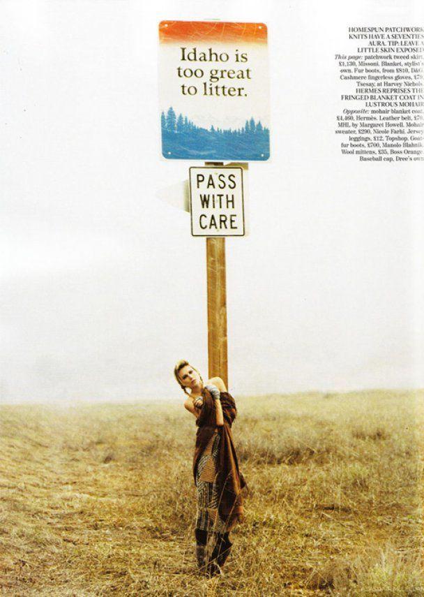 Правнучка Хемінгуея знялась для Vogue UK