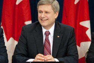 В Украину прилетел премьер-министр Канады