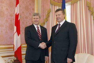 Янукович переплутав ім'я прем'єр-міністра Канади (відео)