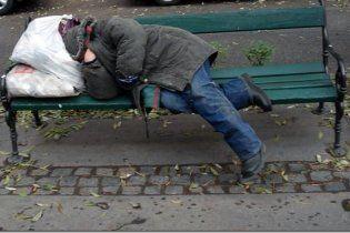У Києві нарахували 15 тисяч бомжів